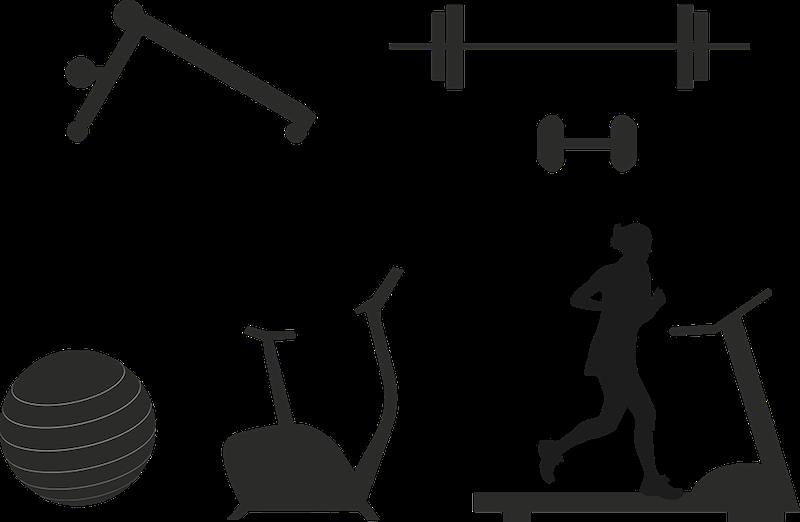 différents appareils de fitness